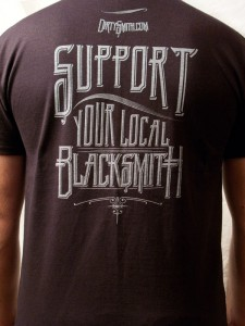 Support Your local Blacksmith Shirt
