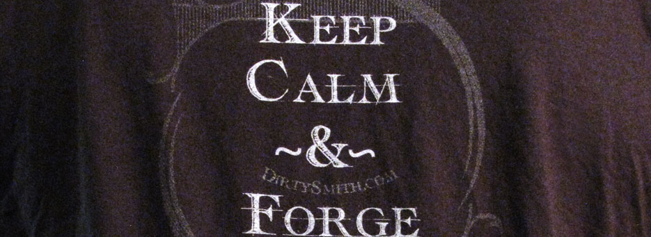 Keep Calm and Forge On