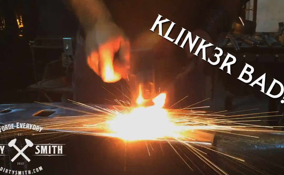 Dirty Smith Show EP: 10 Klinker bad! Intro to forge welding